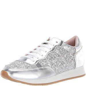 Kate Spade New York Women's Felicia Silver Sneaker